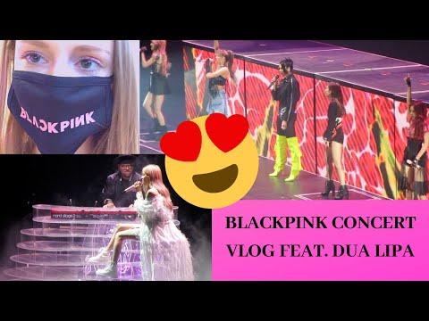 BLACKPINK - CONCERT VLOG!!! FEAT. DUA LIPA - NEWARK NJ