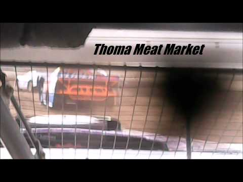Stock Car Heat Race #1 Mercer Raceway Park 6/28/14 IN-CAR