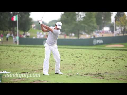 Adam Scott Golf Swing (Side) @ 2009 US PGA
