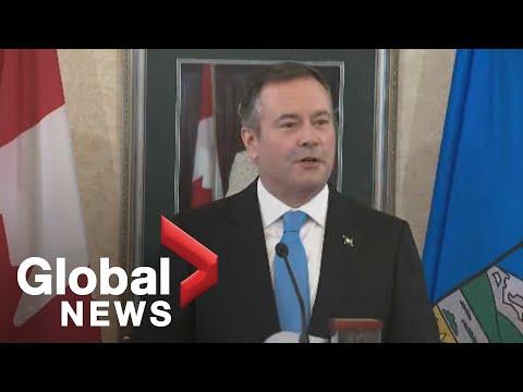 Jason Kenney sworn in as Alberta premier
