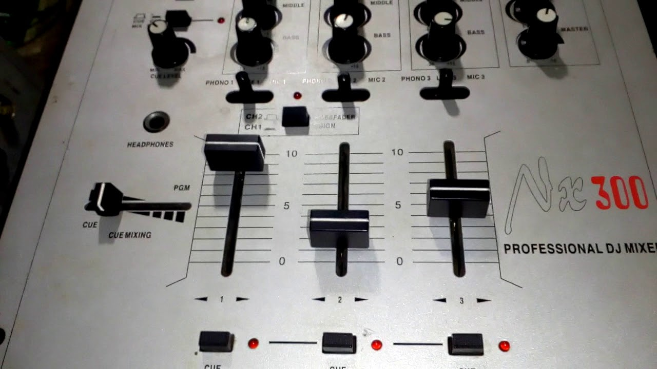 Mic Audio Mixer Circuit Nx Youtube