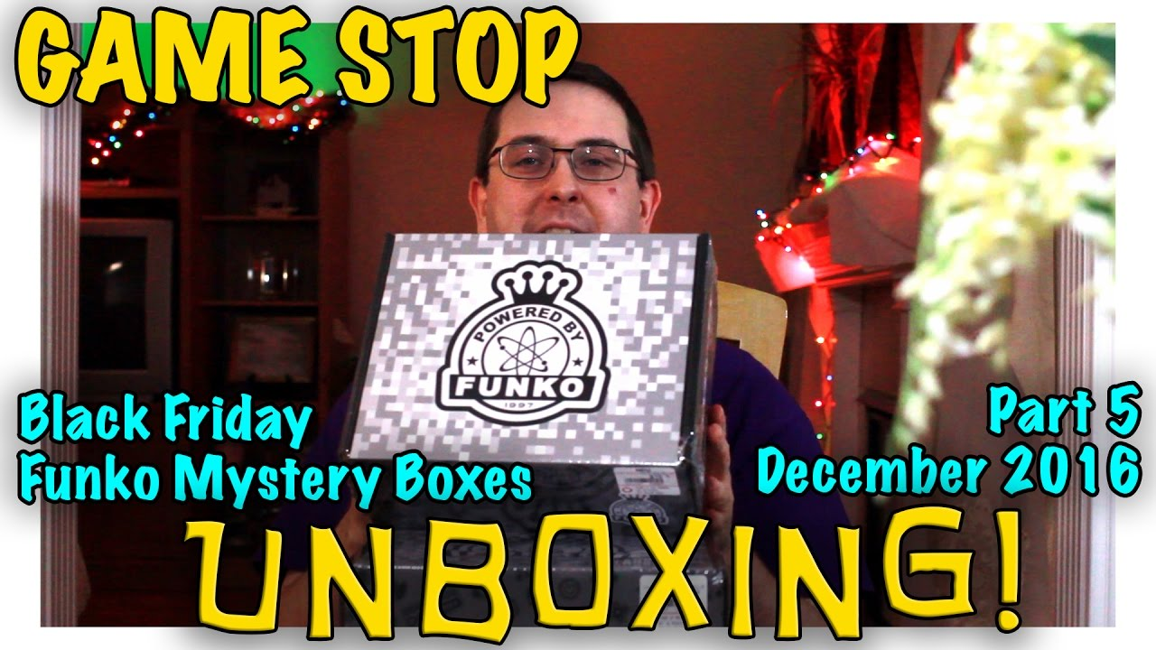 Unboxing Gamestop Black Friday Funko Mystery Boxes Part 5