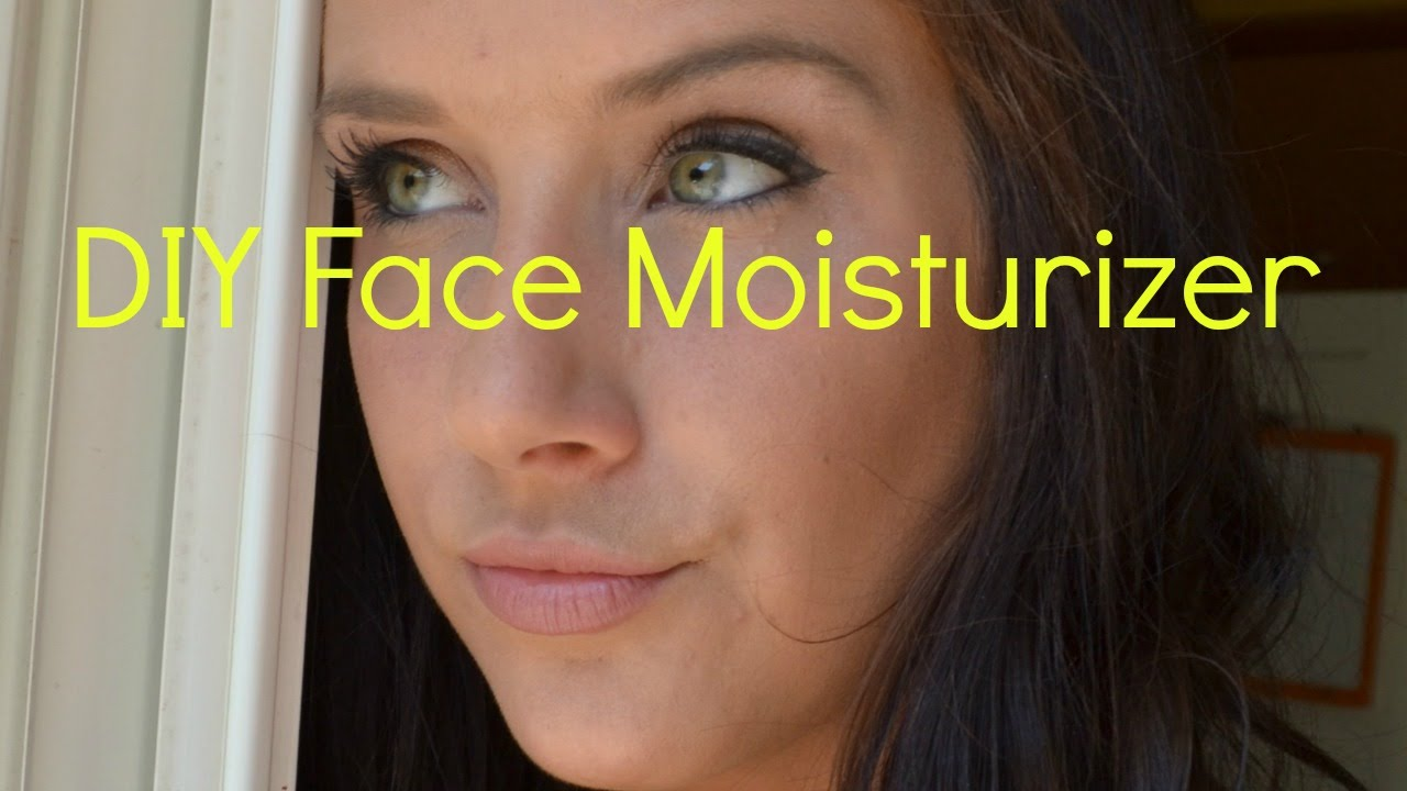 Diy face moisturizer all natural and anti ageing great for diy face moisturizer all natural and anti ageing great for sensitive skin youtube solutioingenieria Gallery
