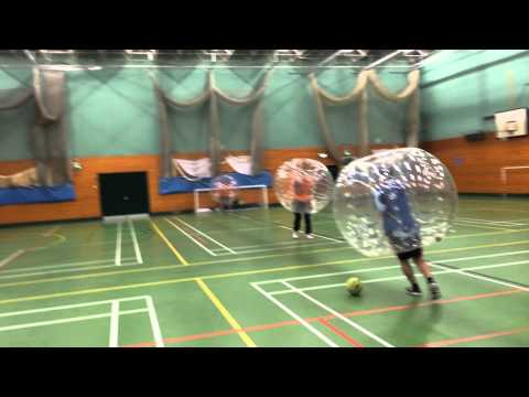 Bubble Football Alsager Leisure Centre Cheshire