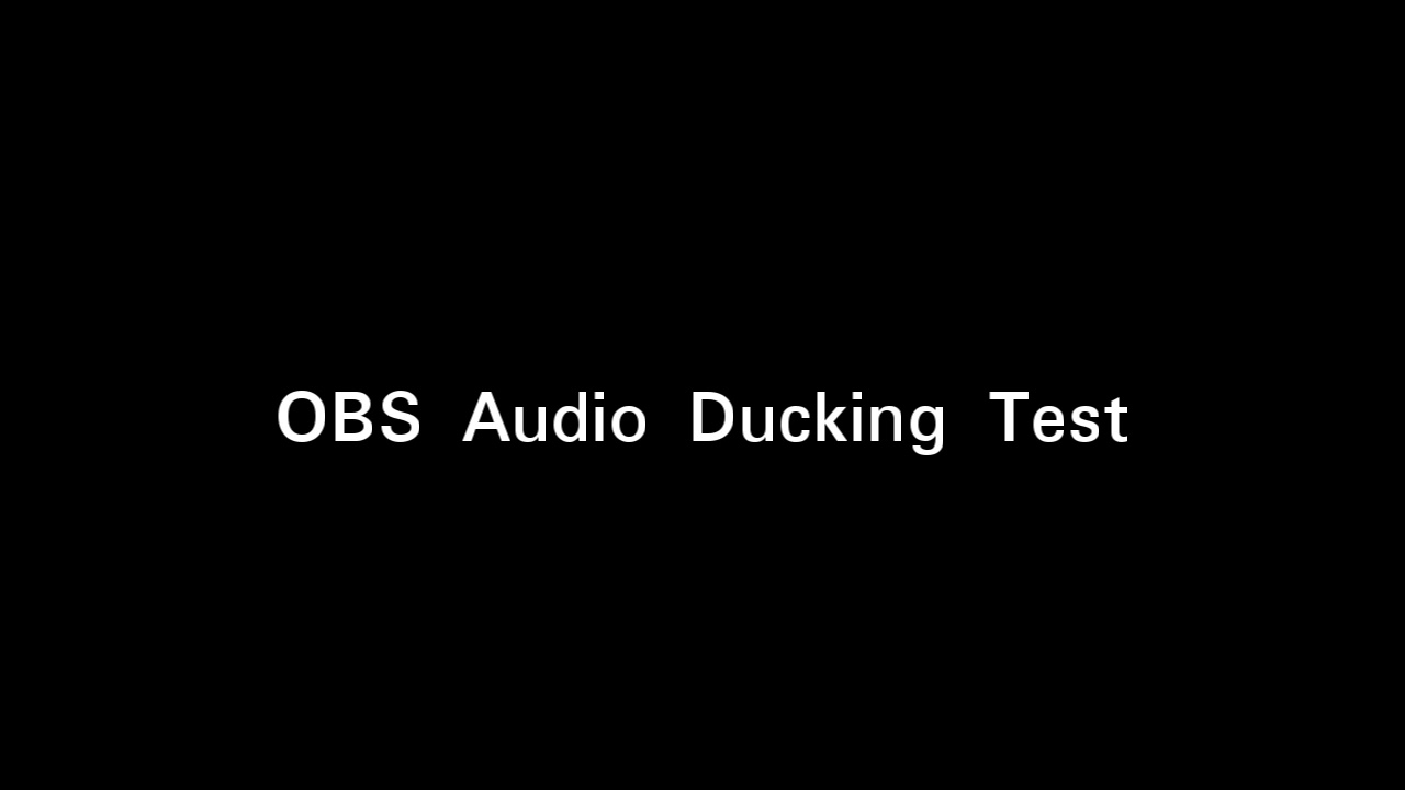 Notes: Professional Audio/Broadcasting with OBS Studio