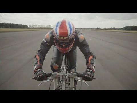 Ciclista britânico bate recorde mundial de velocidade