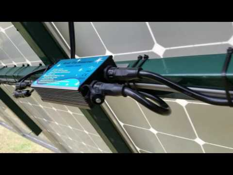 15 Solar Panel Extremely Cloudy Day Output