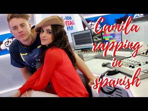 Camila Cabello Rapping In Spanish -- Capital FM