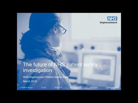 Future of patient safety investigation