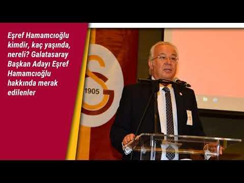 Galatasaray Başkan Adayı Eşref Hamamcıoğlu hakkında merak edilenler: kimdir, kaç yaşında, nereli?