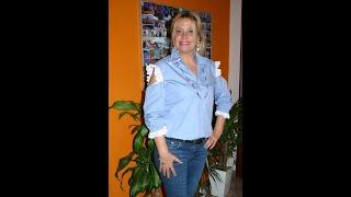 d4983d1498f Блузка из мужской рубашки своими руками (camicetta realizzata dalla camicia  di mio marito)