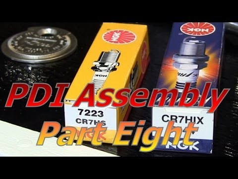 TaoTao ATM50-A1 Chinese Scooter PDI Assembly Part 8 : Ignition Upgrades And  Checks