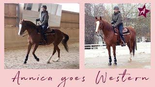 Annica goes Western I Mein 1. Mal im Westernsattel I Unterricht im Westernreiten