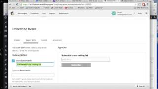 How to add Mailchimp newsletter sign up form inside wordpress posts