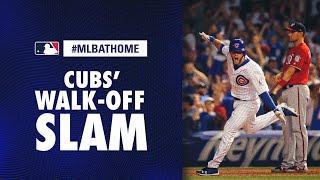 Nationals vs. Cubs, 8/12/18 (Bote's Walk-Off Grand Slam Game) | #MLBAtHome