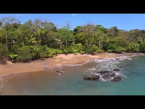 Drake Bay Costa Rica Eco Luxury Resort Aerial View