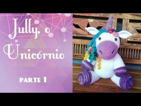 Jazzy el unicornio libre Amigurumi ganchillo patrón - Página 5 de ... | 360x480