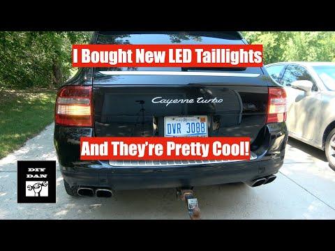 Porsche Cayenne: New LED Taillight Install