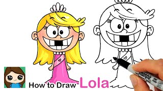 How to Draw Lola | The Loud House