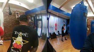 Amir Khan on 360 CAM EsNews Boxing 360° Move Screen With Finer On Phone