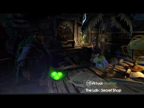 The Lab: Secret Shop Gameplay - VR Lounge