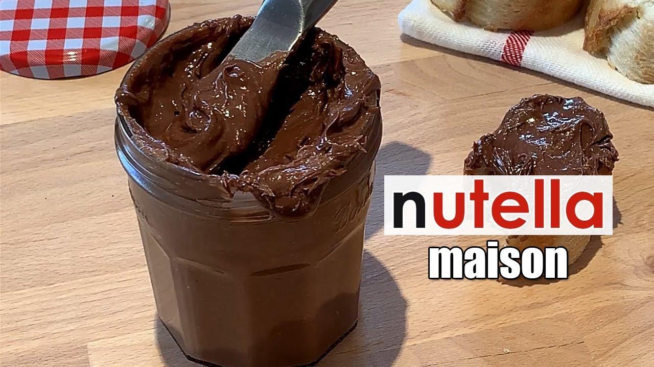 Nutella maison - Recette de Nutella facile et rapide - YouTube