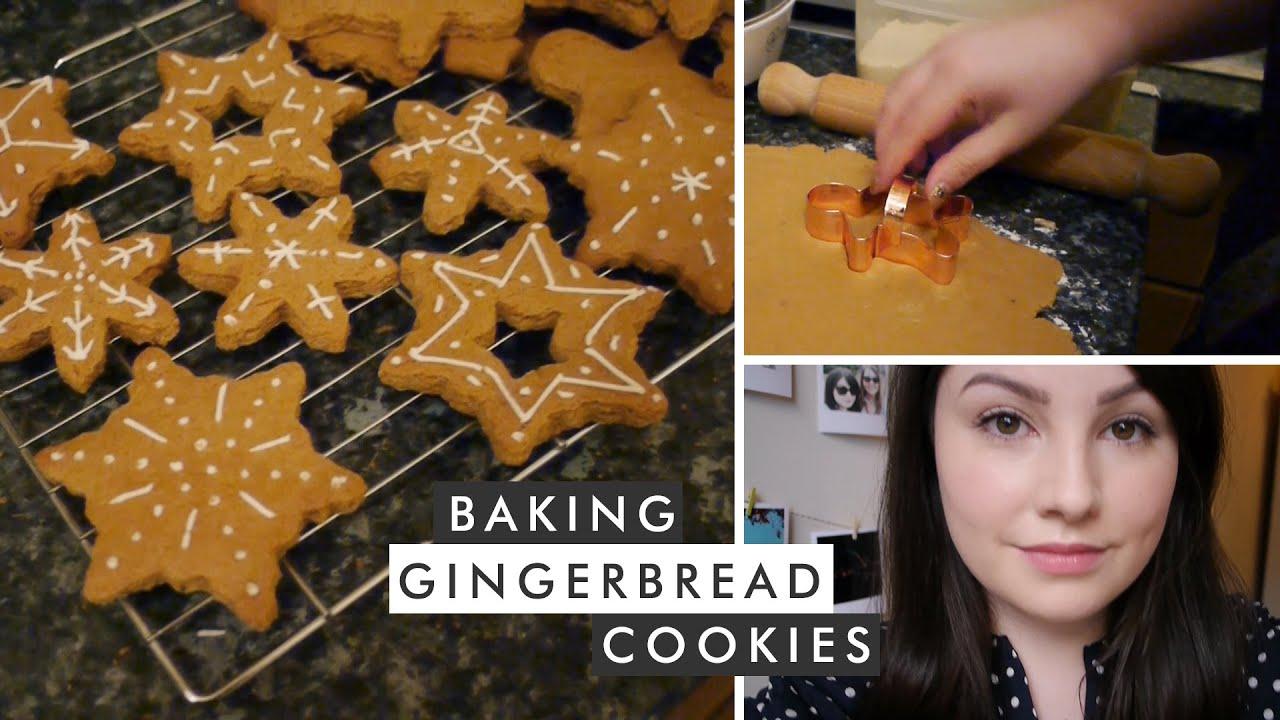 Baking Gingerbread Cookies · VLOGMAS #11 · elevatormusik ...