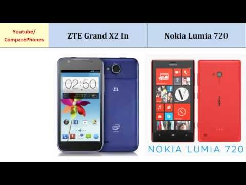 ZTE Grand X2 In and Nokia Lumia 720, all features