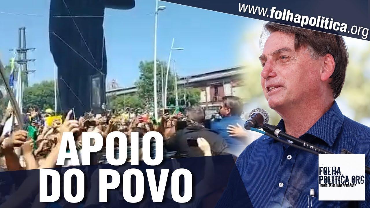 Deputados mostram apoio da população a Bolsonaro ao acompanhá-lo em viagem a Belém