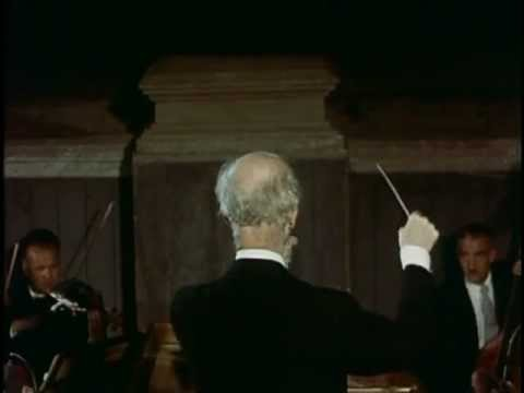 Furtwängler conducting Mozart's Don Giovanni Overture Salzburg 1954 (In Colour)