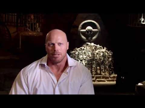 """Mad Max Fury Road Nathan Jones """"Rictus Erectus"""" Official Movie Interview"""