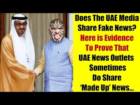 Can You Trust UAE Media? Evidence That They Share Misleading News
