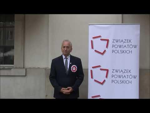 Franciszek Koszowski podczas Zgromadzenia Jubileuszowego ZPP