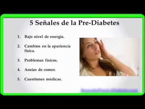 Las señales De La Prediabetes y Prevencion - YouTube