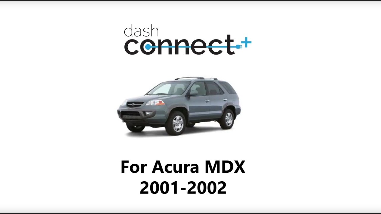 DashConnect for Acura MDX 2001 2002