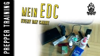 Prepper - Mein EDC |EveryDayCarry| German HD 1080p