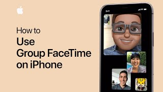 How to use Group FaceTime on your iPhone, iPad, or iPod Touch — Apple Support