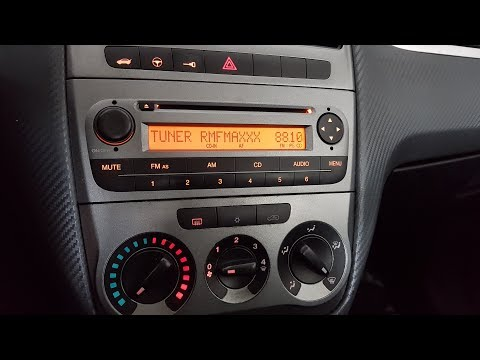 [PL/EN] Fiat Grande Punto - Wymiana żarówek podświetlających panel klimatyzacji ręcznej