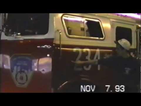 FDNY Bullet holes, dented up rigs, ride along montage firehouse tour 123 234 Batt 38 St John's East