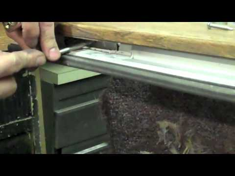 How to Replace the Rollers on a Great Lakes Window Sliding Glass Door