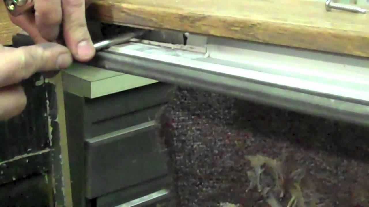 How To Replace The Rollers On A Great Lakes Window Sliding