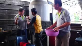 09 Thailand New Year Celebration at Batu Pahat Johor Malaysia Songkran  Festival Water Splashing Day