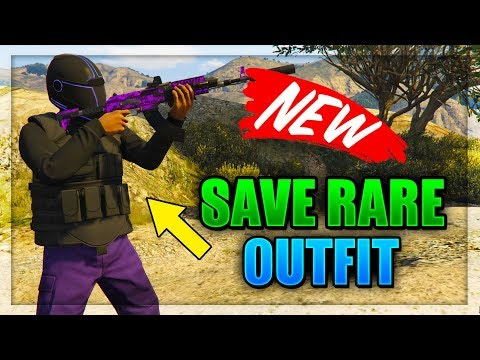 GTA 5 ONLINE - *NEW* SAVE NEW OCCUPY ADVERSARY MODE OUTFIT! (Gta 5 Online Best Clothing Glitches)