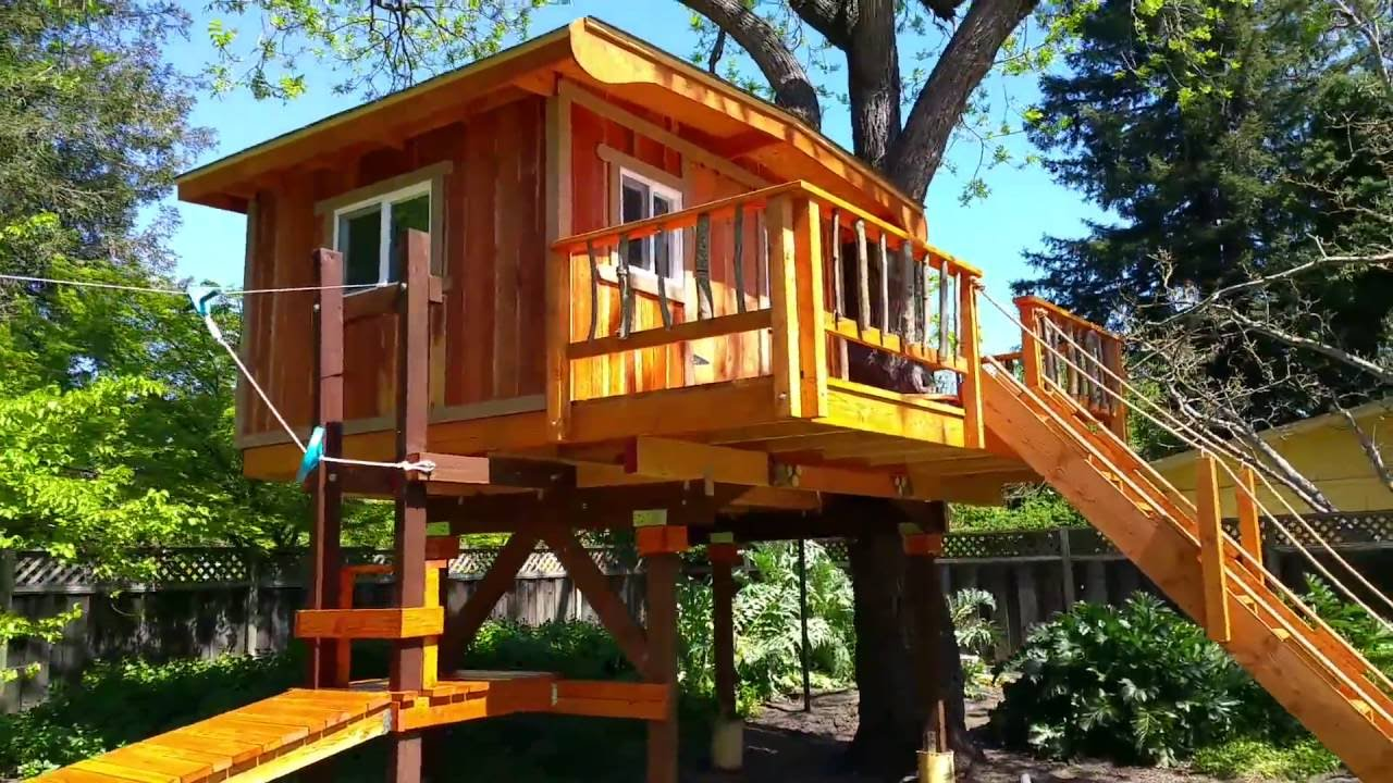 Kids Tree House kids treehouses: treehouse builders in northern california: kids