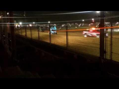 ASCoC Sprint Car A Main Part 1/3  Brownstown Speedway