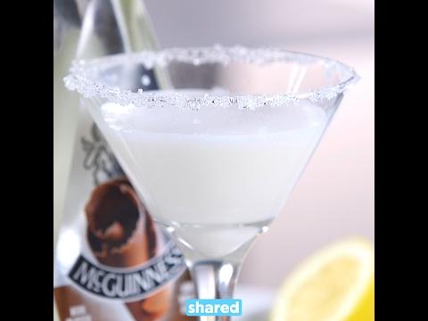 White Chocolate Snowflake Martini