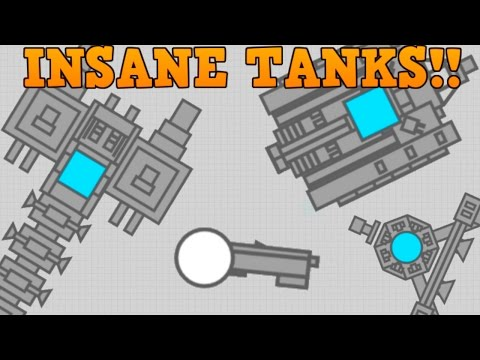 DIEP.IO CREATE YOUR OWN TANK!! // CRAZY Fan Creations // (Fantasy Tank Builder)