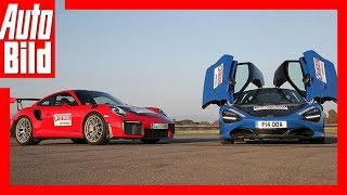 Porsche 911 GT2 RS vs McLaren 720S (2018) Fahrbericht/Test/Review