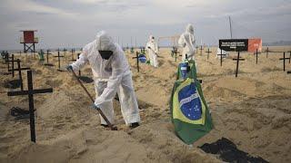 Массовые смерти и заражения Коронавирус поглотил Бразилию