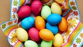 Как Покрасить Яйца на ПАСХУ БЕЗ ХИМИИ! ПАСХА 2020! 3 Проверенных Способа! Лучшие РЕЦЕПТЫ на ПРАЗДНИК